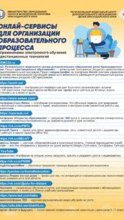 Онлайн-сервисы для организации образовательного процесса